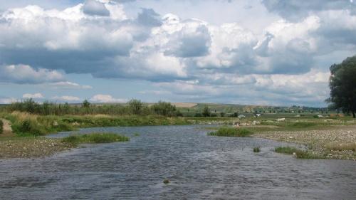 Der Lauf der Moldau ist immer wieder anders. Wie das Leben.